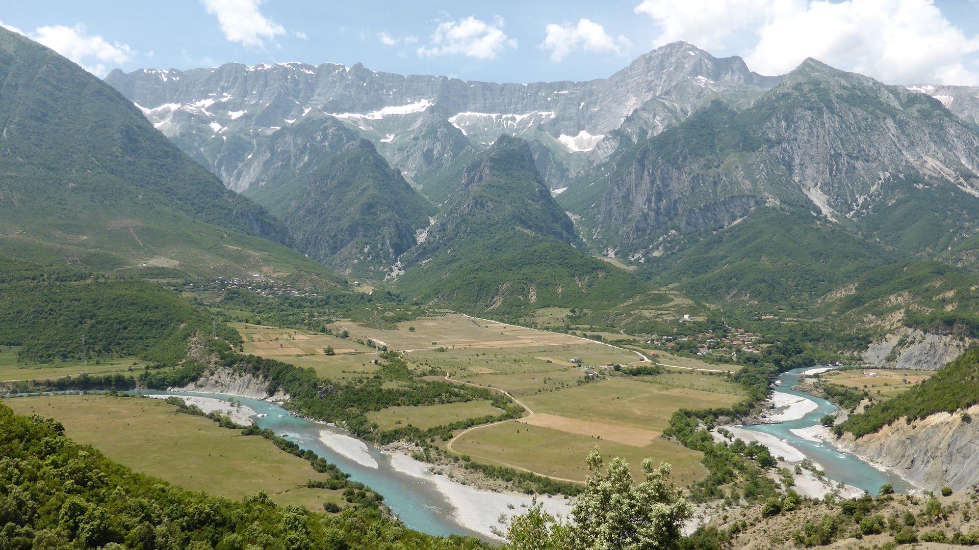 Radreise durch das unbekannte Albanien