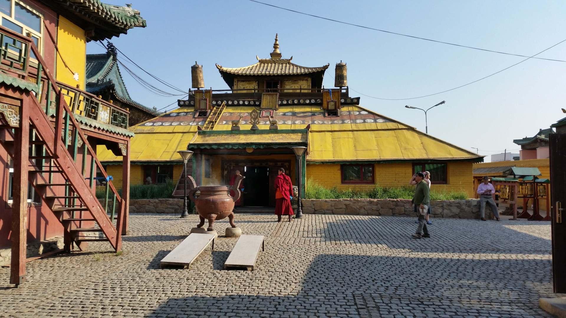 Im Gandan-Kloster