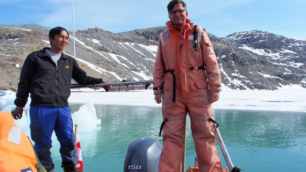 Einer der ruhigen Momente auf Robben & Wal Safari in Ost Grönland.