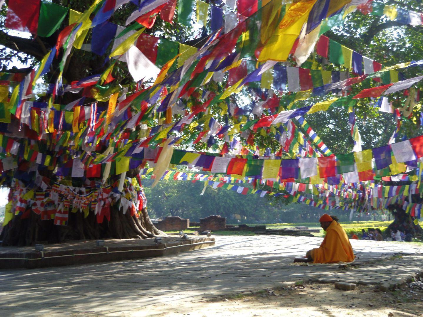 Buddha im Himalaya: Gebetsfahnen und ihre Bedeutung