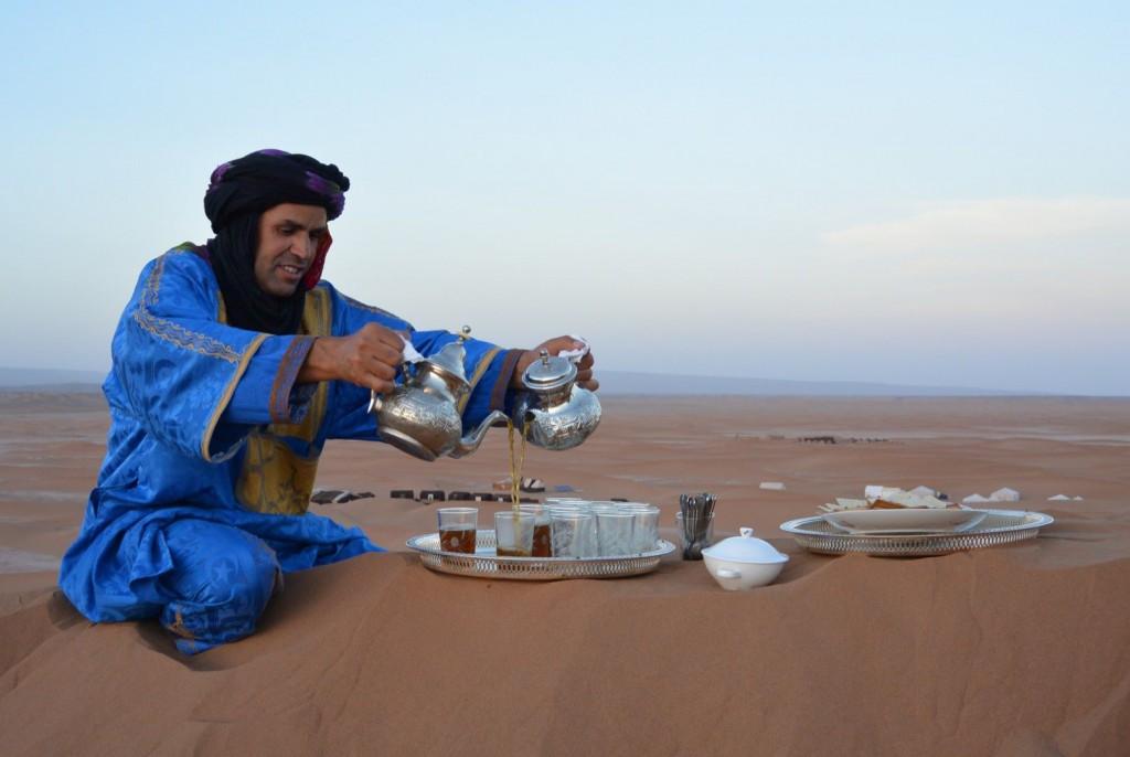 Teepause in Marokko