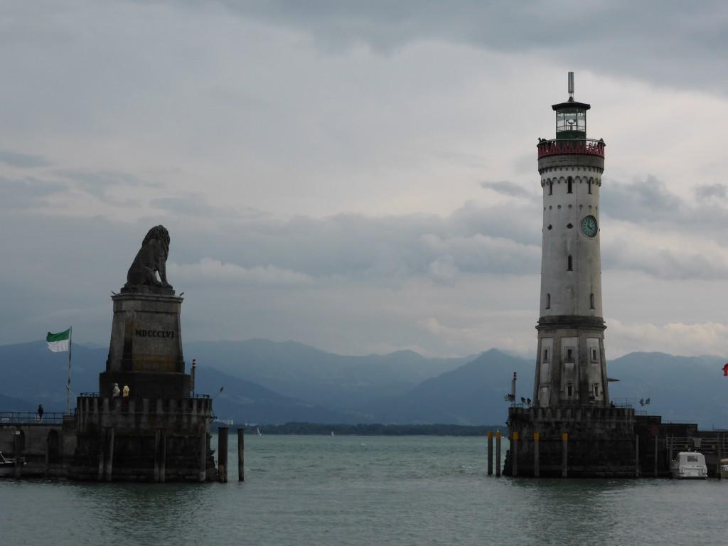 Hafeneinfahrt Lindau