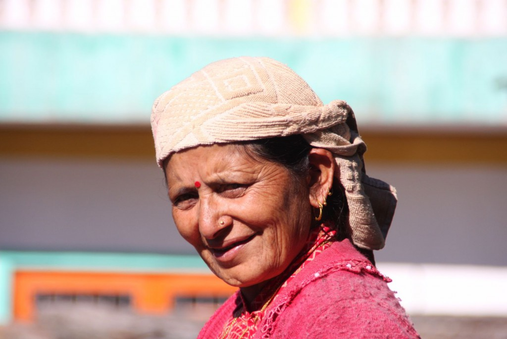 nepalesische Frau 2