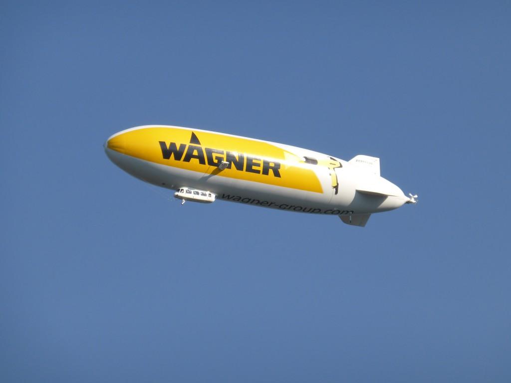 Zeppelin bei Friedrichshafen