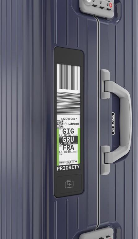 RIMOWA Koffer mit integriertem Electronic Tag (Mit freundlicher Genehmigung von RIMOWA)