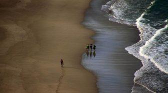 Am Playa de Soesto in Laxe - © Asociación O Camiño dos Faros