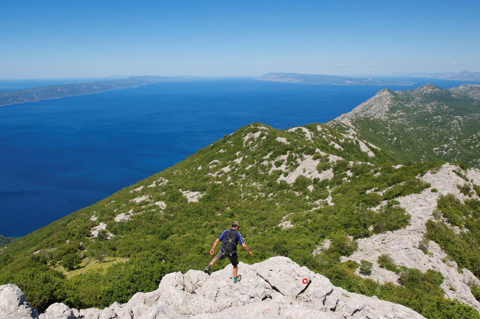 Kroatien: Gipfelhüpfen an der Adriaküste entlang