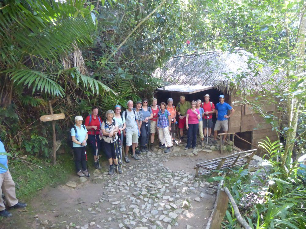 Vor Fidels Hütte