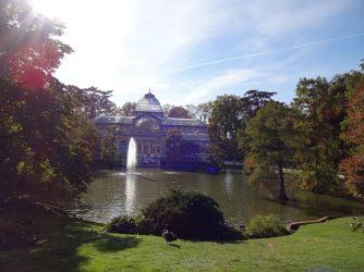 Palacio Cristal im Retiro-Park