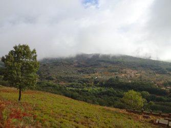 Gebirgslandschaft in der Extremadura