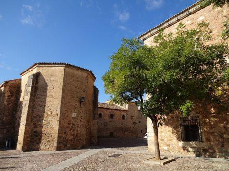 Plaza de las Veletas in Cáceres