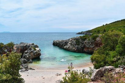 Küstenwandern entlang der Albanischen Riviera
