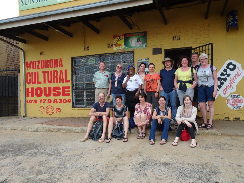 Gruppenfoto zum Abschluss unseres Besuches