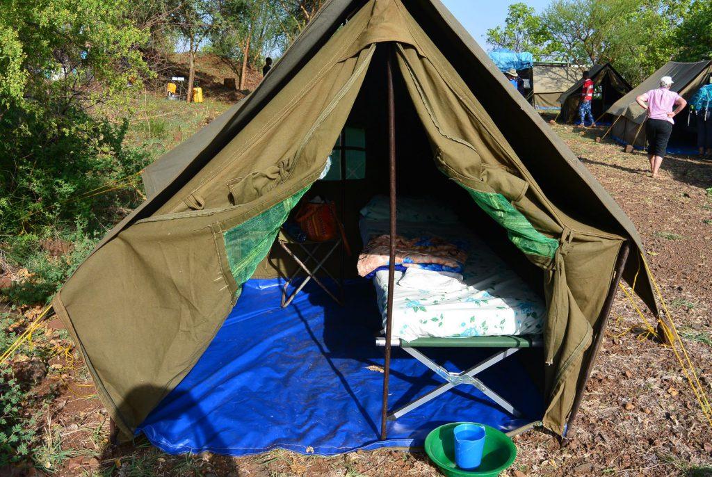 mein Zelt im Mursi-Camp