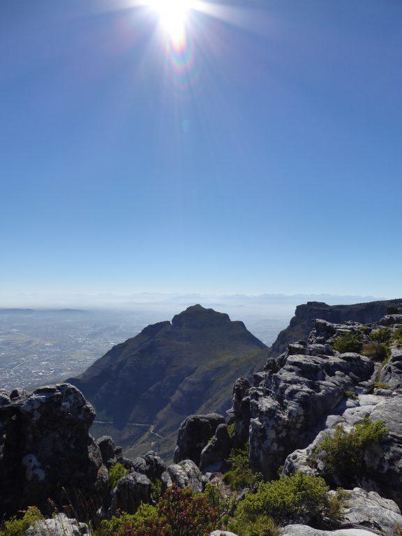 afelberg mit Aussicht auf Kapstadt