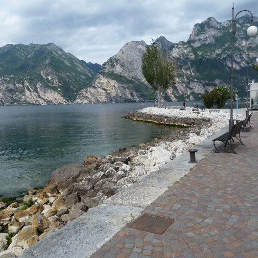 Uferpromenade von Torbole