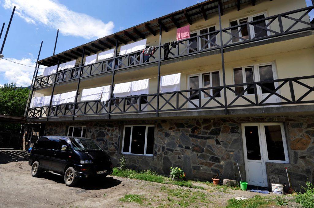 Gästehaus in Mestia