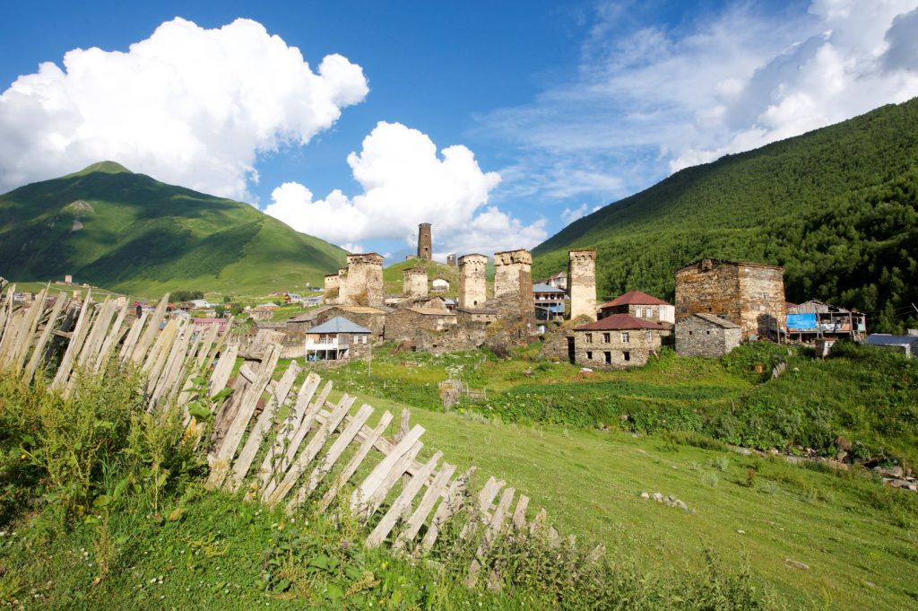 Das UNESCO-Dorf Ushguli