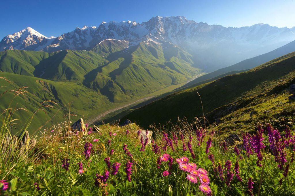 Der Berg Schchara