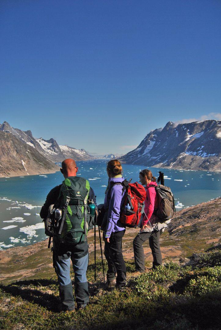 Wanderung von Tiniteqilaaq zum Jägerhaus (1)