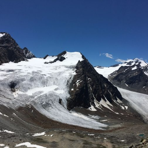 Aussicht in die Östztaler Alpen