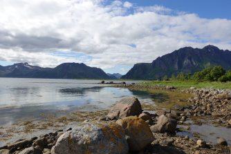 Wanderung auf den Lofoten