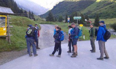 Wandereinstieg Mittelberg