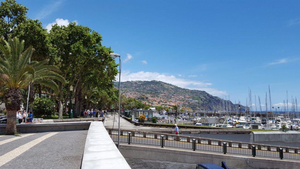 Hafen Promenade Funchal