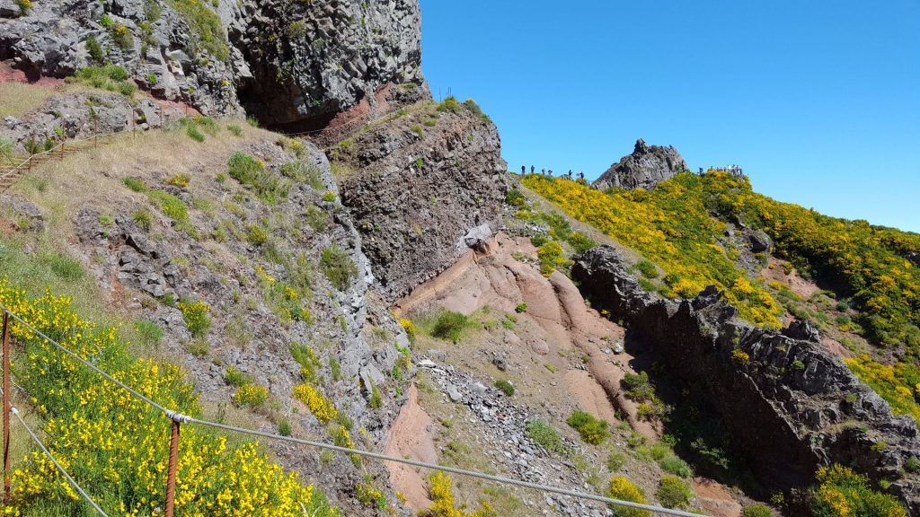Wanderung zum Aussichtspunkt Pico Arieiro