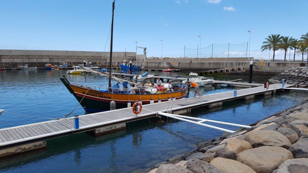 Bootstour mit der Ribeira Brava