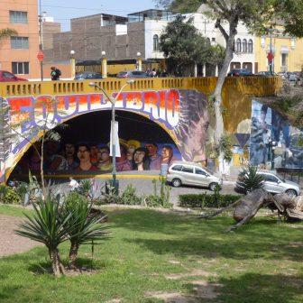 Im Künstlerviertel Barranco