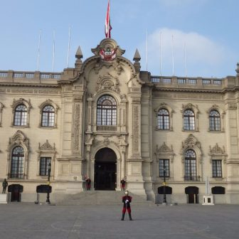 Regierungspalast in Lima