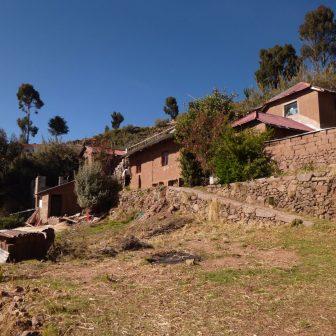 Unterkunft auf der Insel Taquile