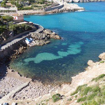 Bucht bei Cala San Vicente
