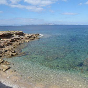 Malerische Bucht im Norden