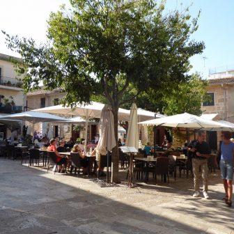 Stadtleben in Alcudia