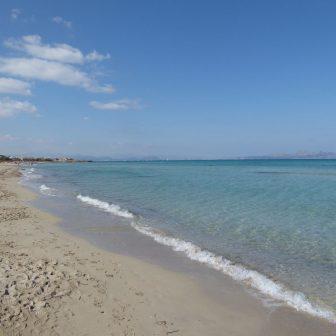 Strand bei Colonia San Pere