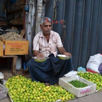 Limettenverkäufer in Kandy