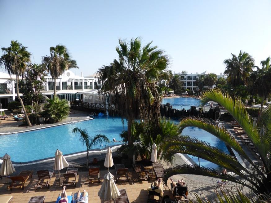 Pool im Hotel Las Marismas
