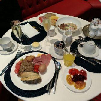 Frühstück im The Delight Hotel in Swakopmund