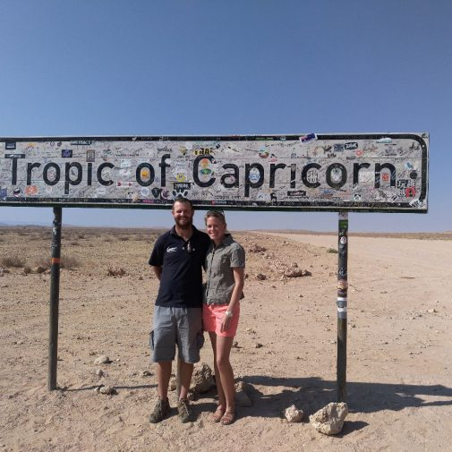 Reiseleiterin Bianca und ihr Mann Murray