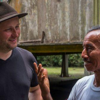 Besuch auf der Kakaoplantage