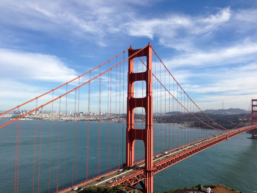 Golden Gate – Welcome to California
