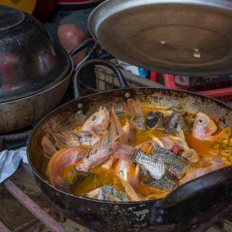 Mittagessen auf der Finca von Don Andrés