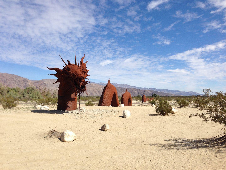 Skulpturenpark im Anza-Borrego Desert State Park