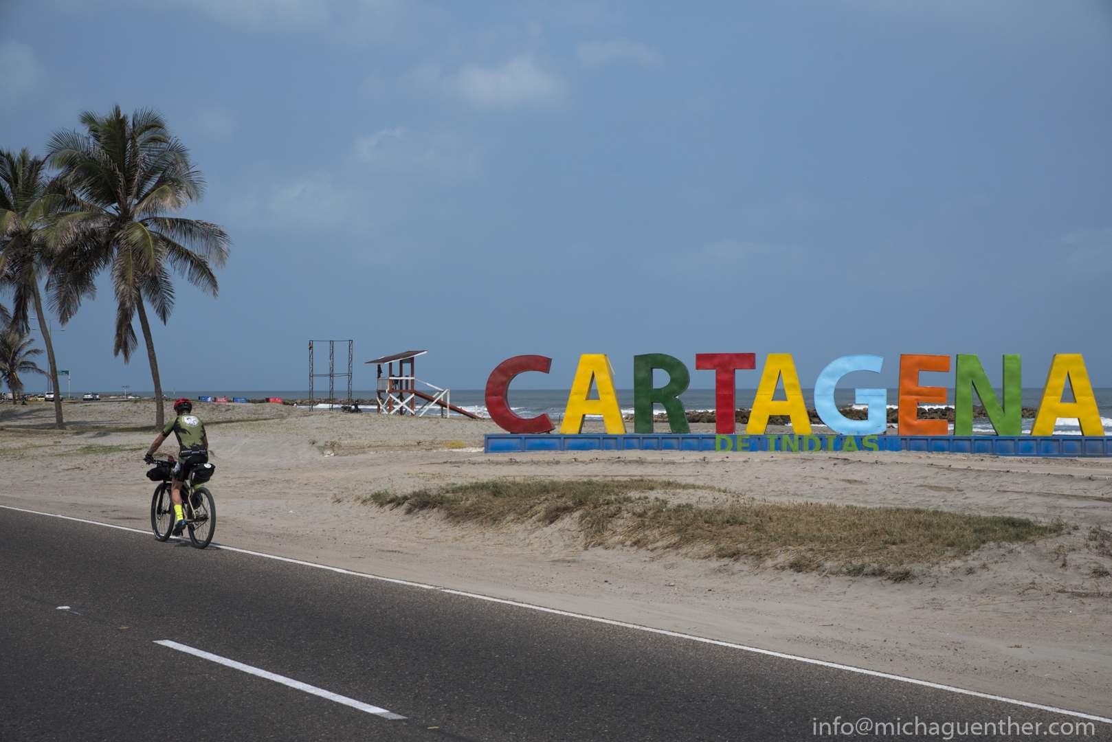 Ankunft in Cartagena