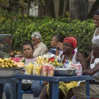 Obstverkäuferinnen in Cartagena