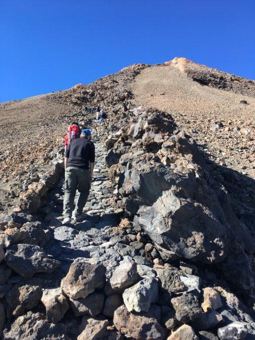 Der Pfad zum Gipfel
