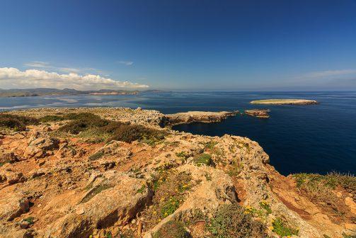 Steilküste Cap de Cavalleria