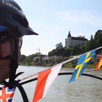 Donau Radweg, Der Donau-Radweg von Passau nach Wien